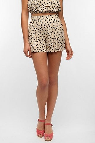 Urban Outfitters Fire Polka Dot Pull-On Short_$39_Urban Outfitters