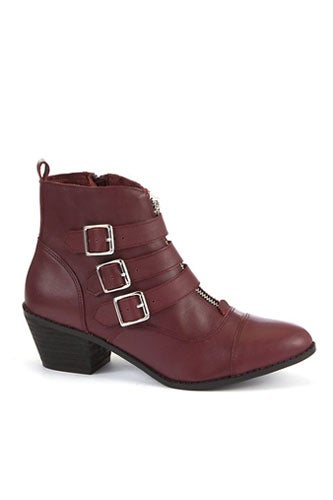 newlook-limiteddeepredleatherbucklezipankleboot-84