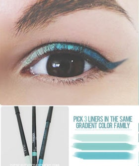 Isn't This Ombre Eyeliner The Coolest?