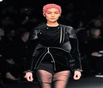 Givenchy Invents A New Peplum Using Motorcycle Jackets