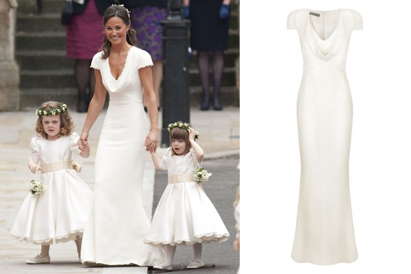 Buy pippa middleton 39 s royal wedding dress pippa mcqueen for Wedding dress like pippa middleton