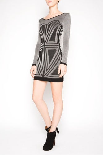 BCBG Generation Geometric Bodycon Dress_98_BCBG