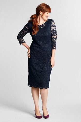Lands-End-34-Sleeve-Lace-Dress_134