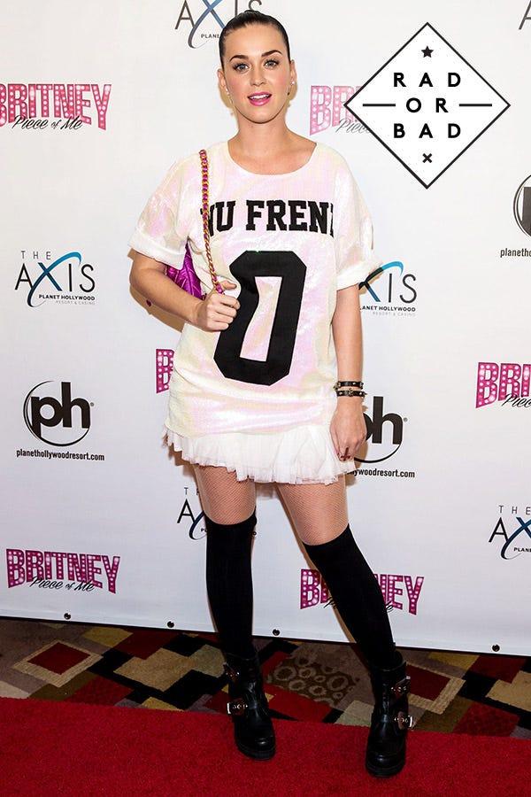 Rad Or Bad: Katy Perry's Tumblr Princess Look