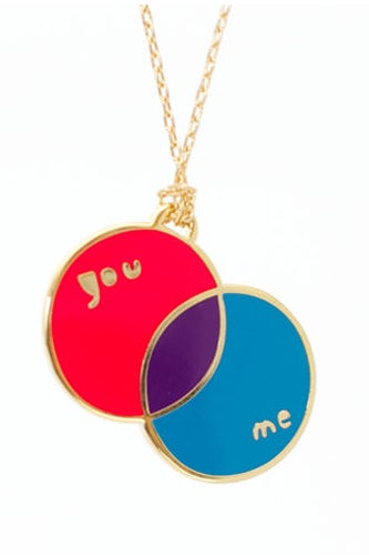 Yellow Owl Workshop You & Me Pendant_$35.20_The Curiosity Shoppe