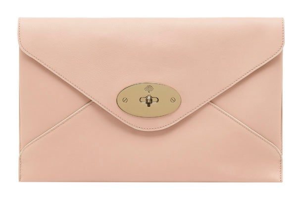 Willow Clutch Classic Calf Nude
