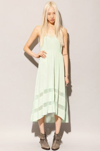 Pixie-Market-Mint-Lace-Dress,-$55,-available-at-Pixie-Market-