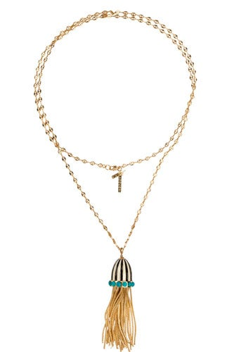 Chain-Tassel-Necklace-Black-&-White-A