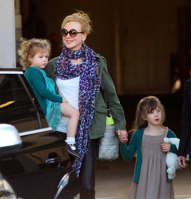 Nicole Kidman Owns Airport
