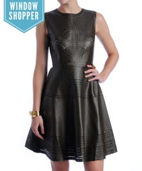 Found It: The Perfect Leather LBD To Prep Your Fall Wardrobe