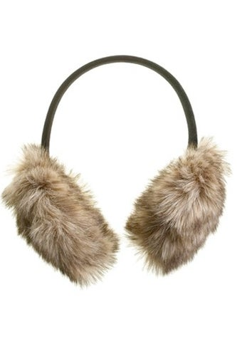 madewell faux fur ear muffs