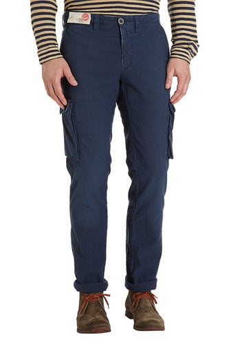 navy pants