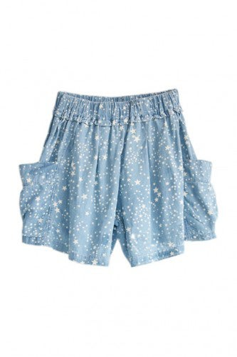 five-star-printed-elasticated-wild-blue-shorts