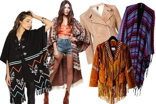 ponchos collage