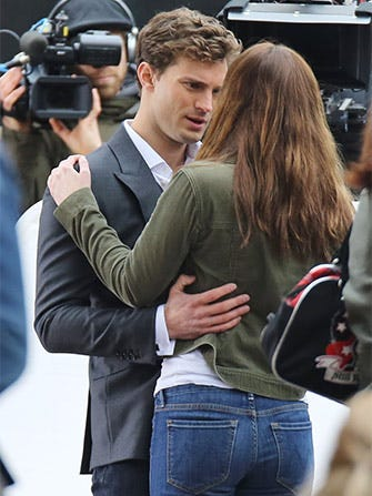 Jamie Dornan, Dakota Johnson, & That Fifty Shades of Grey Clinch You've Been Waiting For