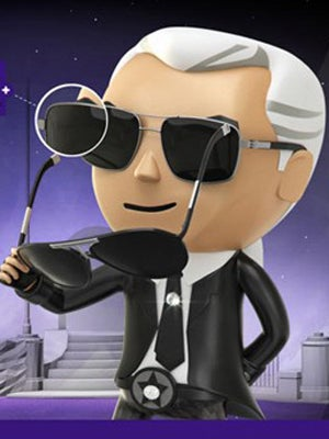 Karl Lagerfeld Sunglasses Video Game