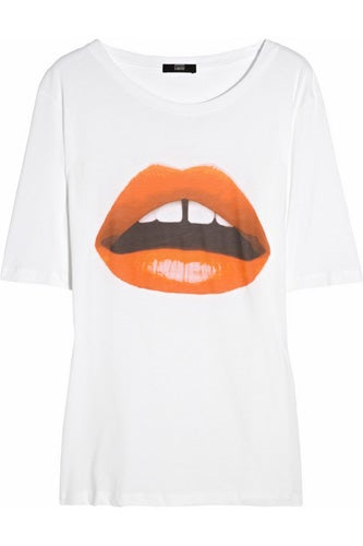 Markus Lupfer Lara Lips Cotton T-Shirt