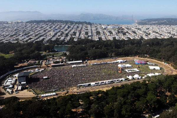 Outside Lands Lineup 2012 - Stevie Wonder & Metallica At ...