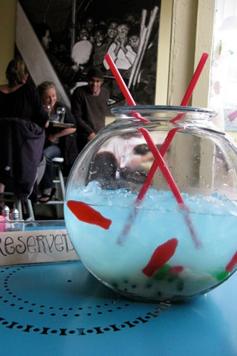 Fishbowl Cocktail