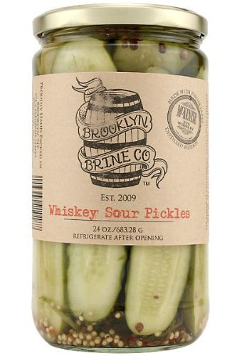 Brooklyn Brine Co. Whiskey Sour Pickles_$11.49_Amazon