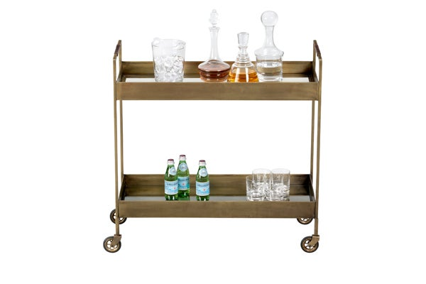 Crate-&amp;-Barrel---Bar-Cart