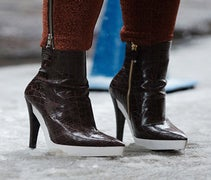Shoe Stalking! NYFW Blizzard Edition