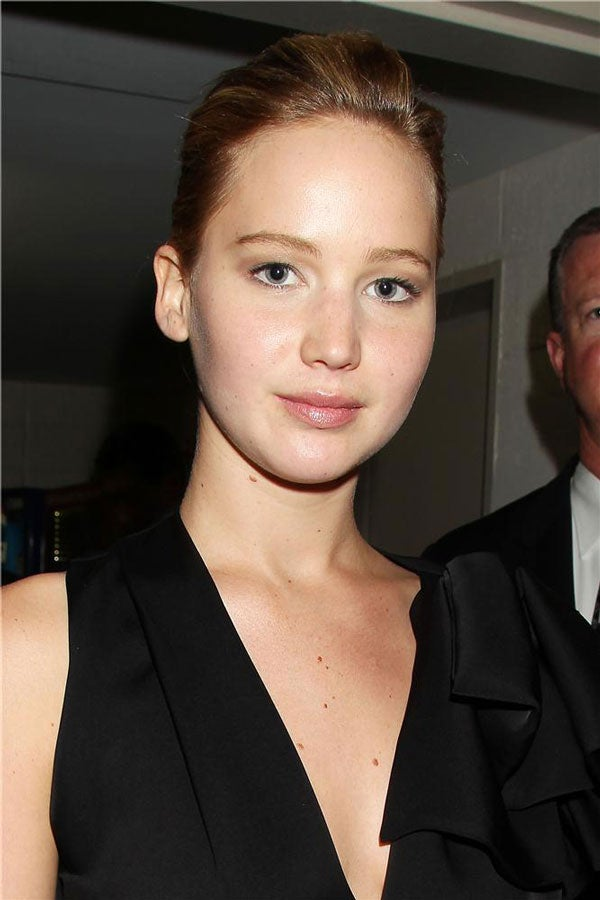 No Makeup Jennifer Lawrence jennifer lawrence makeup free - stars ...