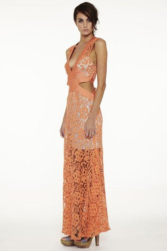 Long-Cool-Coacktail-Maxi-Dress-Side