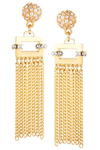 Tassel-Earring-Gold