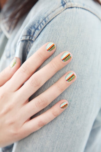 coachella-nail-art-designs-tribal