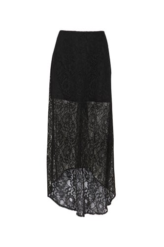 floor-length-black-lace-skirt