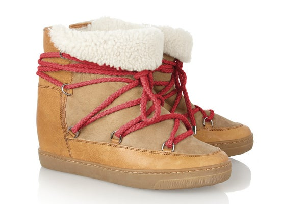 Is Anyone Stoked About The New Isabel Marant Hidden-Wedge Shoe?