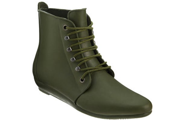 rubber booties- Barneys rain gear for women