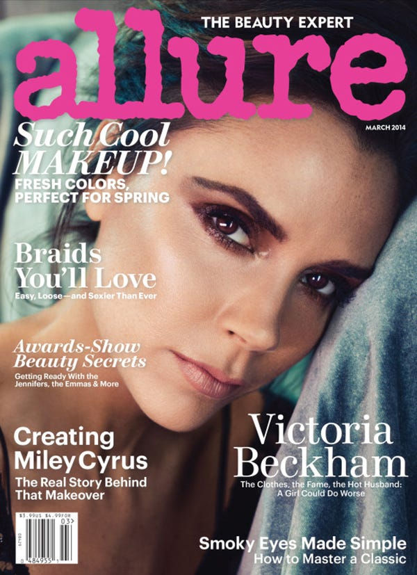 Victoria Beckham's Breasts Are M.I.A. She Tells Allure