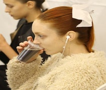 Croissants & Cola! What Snacking's Like Backstage At Fashion Week
