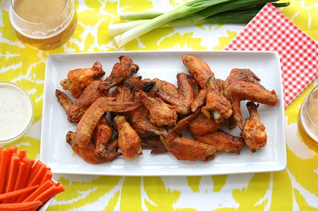 Easiest Ever Buffalo Wings For The Wing-Making Newbie