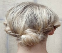 Check Out This Adorable Twisted Bun From Stockholm Fashion Week