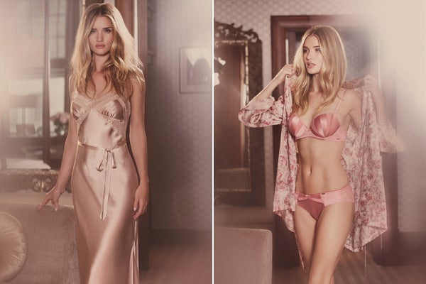 Rosie Huntington-Whiteley's Autograph Campaign