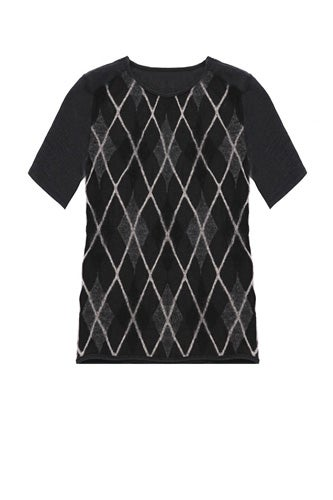 netted-wool-argyle-t-shirt