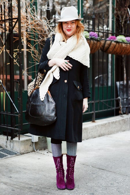 Juliet James Winter Street Style