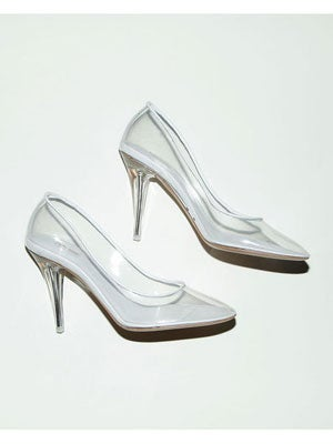 marcjacobs transparentpump 595 Marc Jacobs Recreated The Glass Slipper For The Modern Cinderella