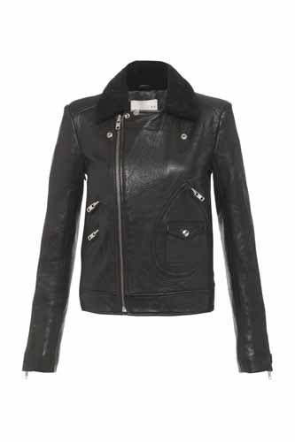 IRO leather jacket was £975 now £579@harrods.com