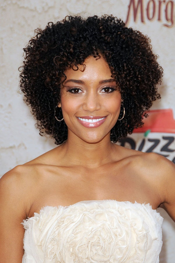 Natural Hair In Hollywood - Kinky Hairstyles On Women
