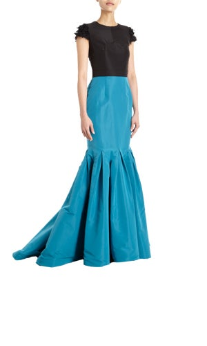 sized-two-tone mermaid gown - 3500 copy