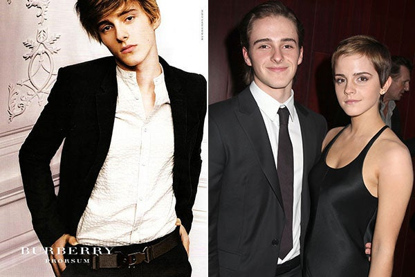 Emma Watson Brother Alex Burberry Model Pictures