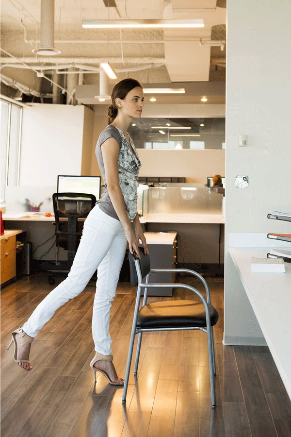 7 Ways To Work Out At Your Desk — Without Alerting HR!