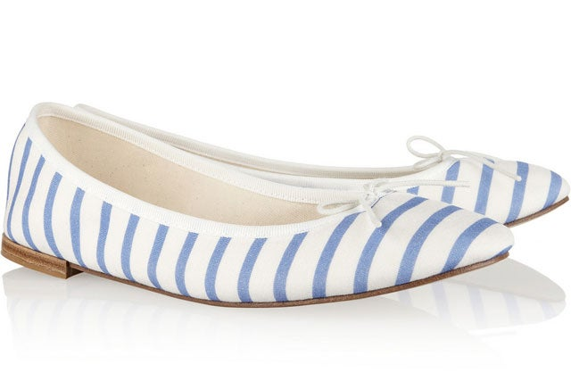 repetto-striped-flats