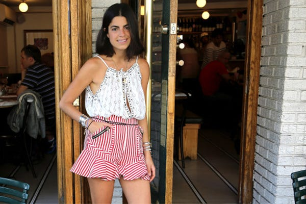The Man Repeller Spills On Her Fave NYC Eats