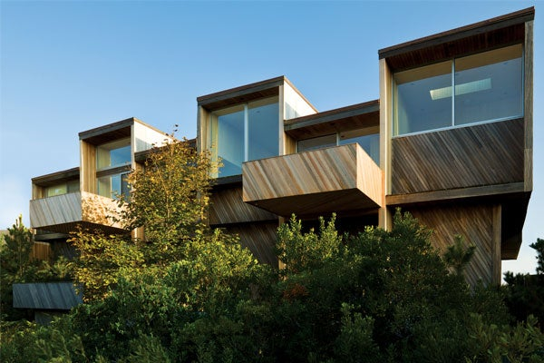 LIPKINS HOUSE. COURTESY OF FIRE ISLAND MODERNIST: HORACE GIFFORD AND THE ARCHITECTURE OF SEDUCTION.