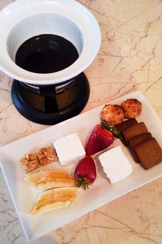 10_The Chocolate Room - chocolate fondue for two